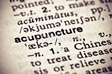 Acupuncture Definition Photo